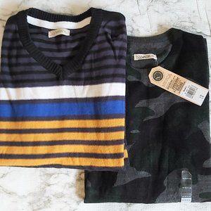 Bundle of 2 Boys Nevada Sweaters L (14-16)
